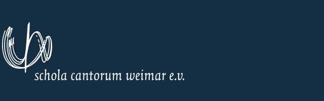 Schola Cantorum Weimar e.V.