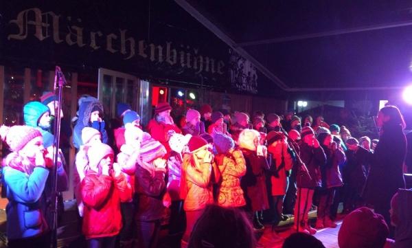 Eröffnung Weihnachtsmarkt, Foto: Katrin Freise