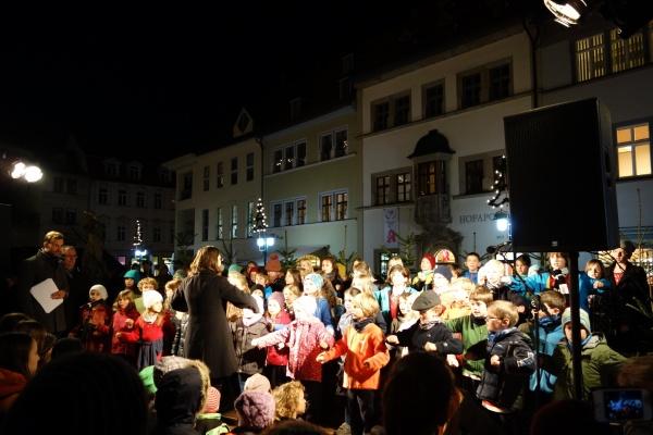 Eröffnung Weihnachtsmarkt 22.11.2016, Foto: Freya Müller