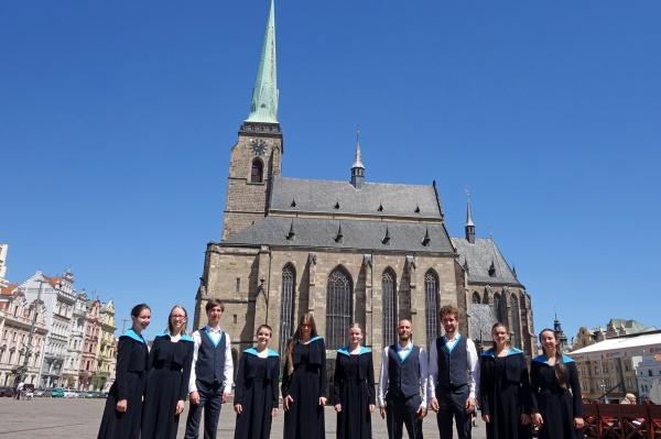 "Jugendkammerchor der schola cantorum weimar beim ""XXI. Evropský festival duchovní hudby"""