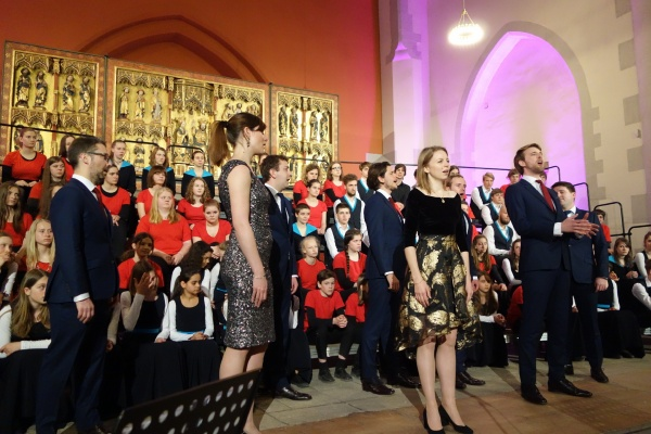 Voces 8, Foto: schola cantorum weimar