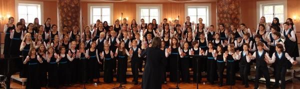 Kinderchor der schola cantorum weimar