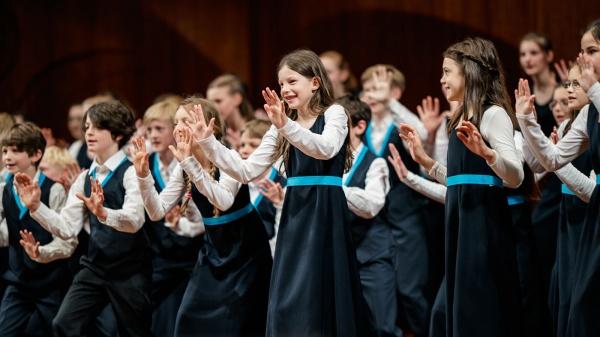 1. Platz für den Kinderchor beim Deutschen Chorwettbewerb in Freiburg/Breisgau © Jan Karow