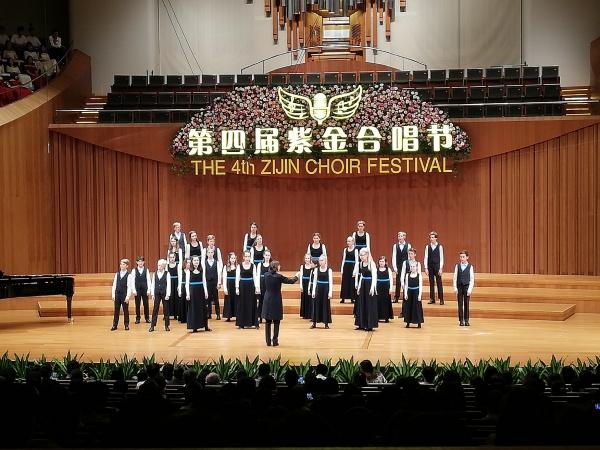 Als Ehrenchor zu Gast in Shanghai, Mai 2019
