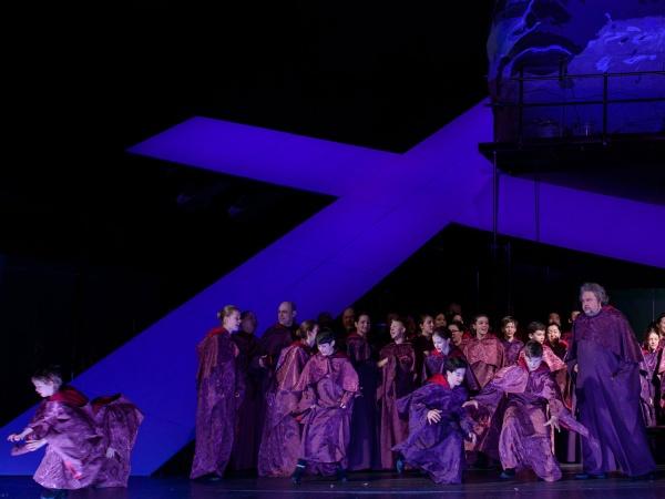 Premiere »Tosca« im DNT Weimar, März 2019